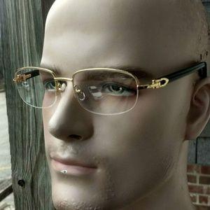 Cartier C decore Buffalo eyeglasses